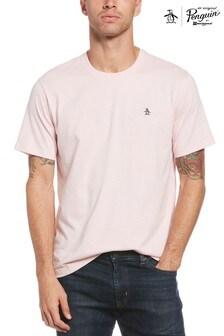 Original Penguin® Pink Embroidered Logo T-Shirt