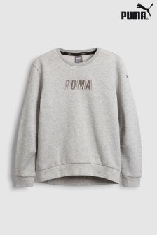 Puma® Grey Sweat Top