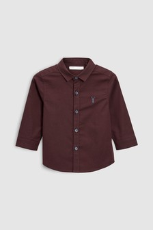 Long Sleeve Oxford Shirt (3mths-6yrs)