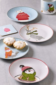 Set of 4 Side Plates