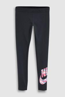 Nike Black Camo Legging
