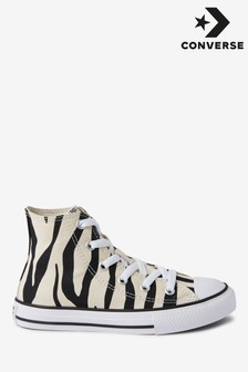 Converse Zebra Junior Chuck High Trainer