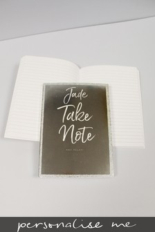 Personalised Take Note Notebook