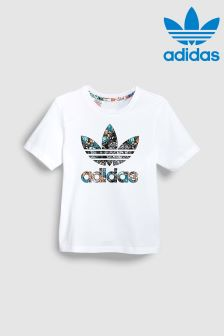 adidas Originals White Zoo Tee
