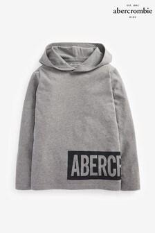 Abercrombie & Fitch Grey Lightweight Hoody