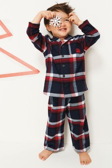 Check Button Through Pyjamas (12mths-8yrs)