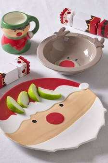 Children's Christmas 3 Piece Dinner Set