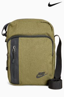 Nike Olive Tech Small Items Bag