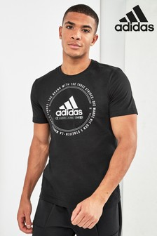 adidas Black Must Have Emblem Tee