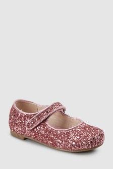 Pantofi Mary Jane cu paiete (Fetițe)