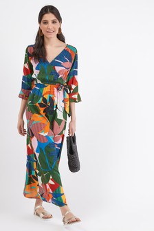 c17a6149ffd5 Wrap Dresses For Women | Wrap Around Dress | Next UK