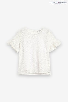 Tommy Hilfiger Caremonial Top, weiß