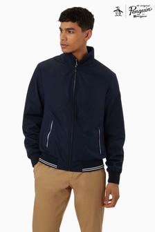 Original Penguin® Blue Bomber Jacket