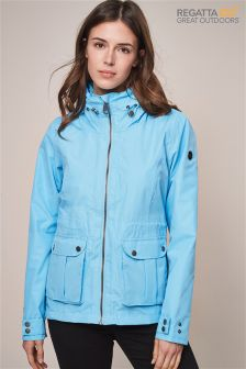 Regatta Blue Nardia Ii Waterproof Shell Jacket
