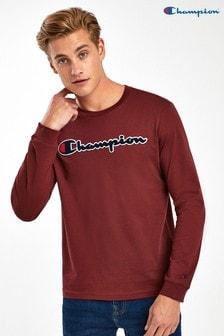 Champion Logo Long Sleeve T-Shirt