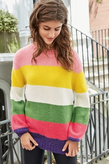 Balloon Sleeve Sweater