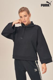 Puma® Black Downtown Crew