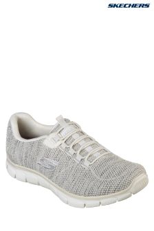 Skechers® Natural Knit Bungee Slip-On With Air Cooled Memory Foam