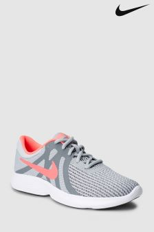 Nike Run Grey/Pink Revolution