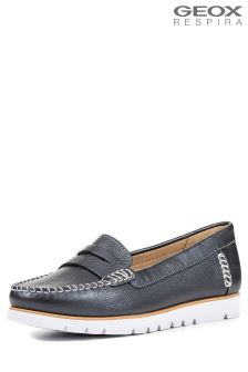 Geox Kookean Navy Loafer