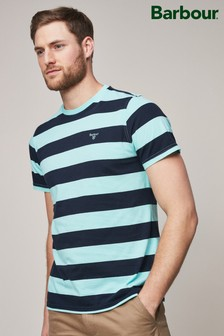 Barbour® Aqua Bass Block Stripe T-Shirt