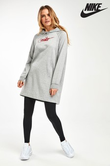 Nike Glitter Longline Hooded Dress