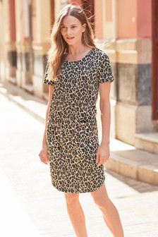 Animal                     T-Shirt Dress
