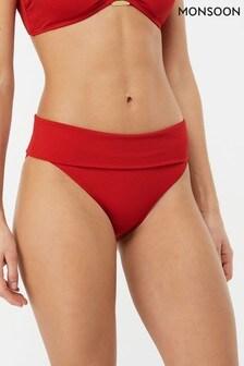 Monsoon Ladies Red Rose Bikini Pant