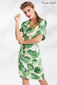 Phase Eight Jade/Buttermilk Deanna Floral Print Dress