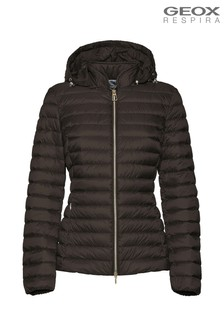 Geox Jaysen Turkish Coffee Down Jacket