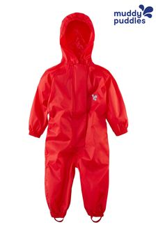 Muddy Puddles Red Originals Waterproof Breathable Puddlesuit