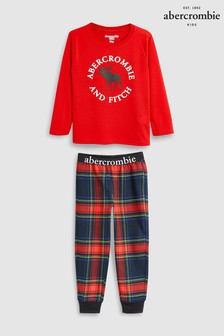 Abercrombie & Fitch Red Moose Pyjama Set