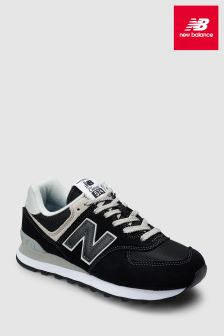 New Balance Black/Cream 574
