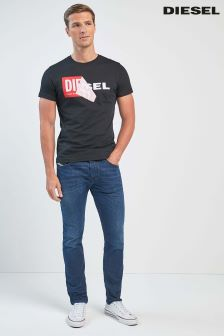 Diesel Dark Wash 84VG Belther Tapered Fit Jean