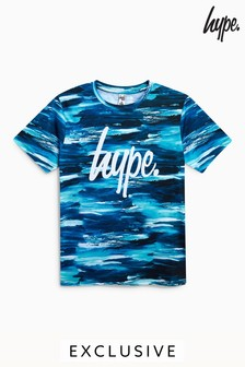 Hype. Printed Script T-Shirt