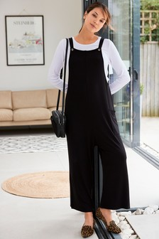 Maternity Jersey Jumpsuit