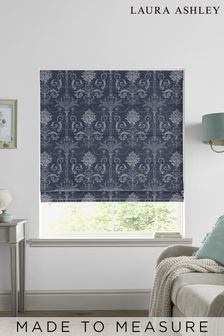 Laura Ashley Josette Midnight Made to Measure Roman Blind