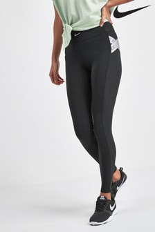 Nike Aero Adapt Black Training Leggings