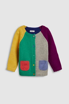 Colourblock Cardigan (3mths-6yrs)