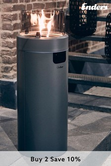 Medium Nova Outdoor Gas Heater with LED Lights by Enders