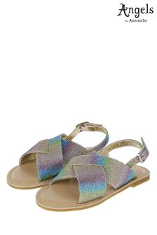 Angels By Accessorize Ombre Glitter Sandal