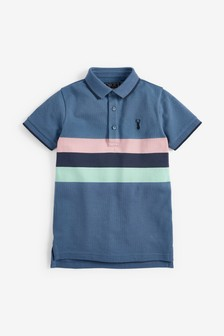 Chest Stripe Polo (3-16yrs)