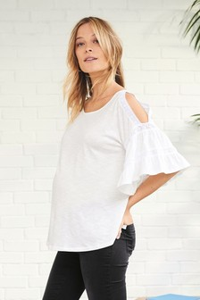 Maternity Flute SLeeve Top