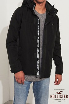 Hollister Black Hooded Jacket