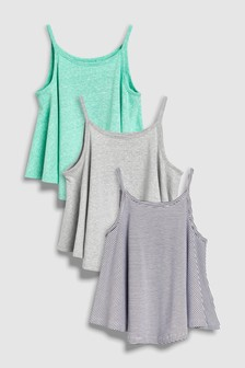 Swing Vests Three Pack (3-16yrs)