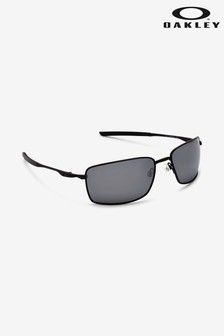Oakley® Black Square Wire Sunglasses
