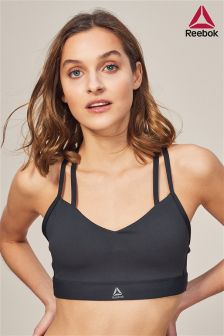 Reebok Black Hero Strap Bra