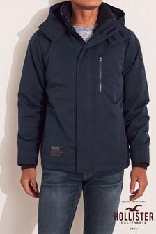 Hollister Navy Sherpa Jacket