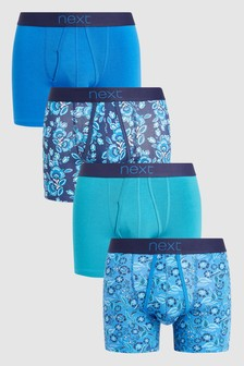 Floral A-Fronts Four Pack