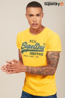 Superdry Yellow Vintage Logo T-Shirt